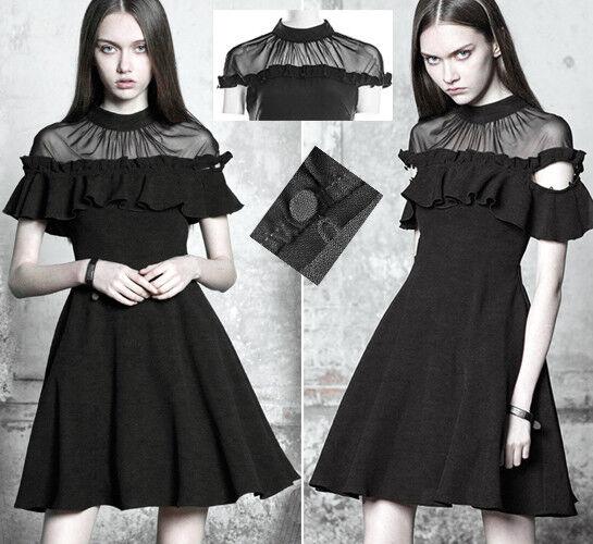 Gothic Lolita Viktorianisch übertragbar Kleid Barock Rüschen Spitze PunkRave