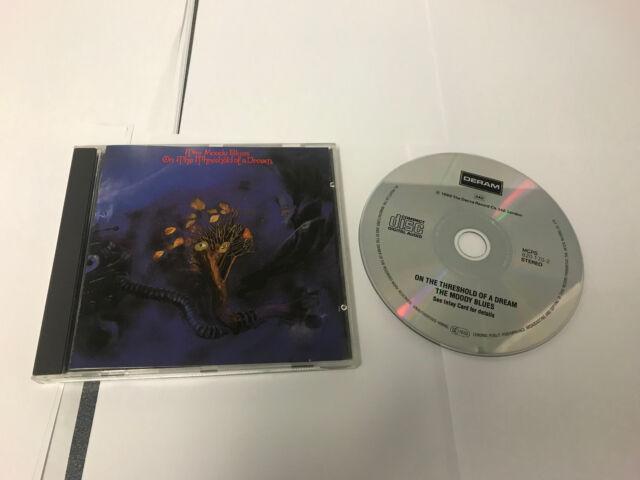 Moody Blues Threshold of a Dream CD 042282017024 B7