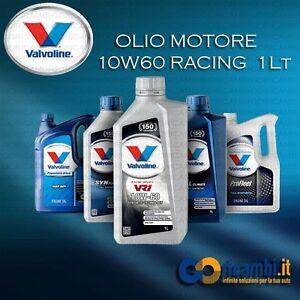 1 LT Olio Motore VALVOLINE VR1 10w60 RACING