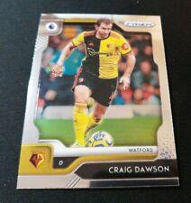 Panini crónicas de fútbol 2019-20 Prizm Craig Dawson Watford