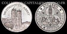 Médaille Abbaye de West Minster, Big Ben, Tower Bridge, Boadicea