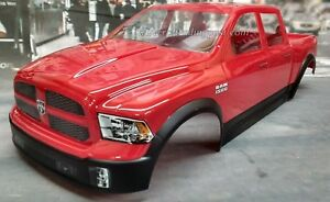 Custom Dodge Ram 1500 >> Details About Custom Painted Body Dodge Ram 1500 For 1 10 1 8 Rc Monster Trucks T Emaxx Revo