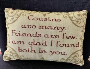 Cousin-Sentimental-Decorative-Tapestry-Word-Throw-Pillow-Gift-Idea