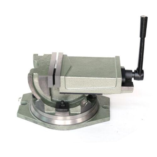 Werkzeugmaschinen Fräsmaschinen Drehbar Schraubstock Maschinenschraubstock Neu