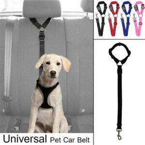 Car-Vehicle-Safety-Seat-Belt-Restraint-Harness-Leash-Travel-Clip-for-Pet-Cat-Dog
