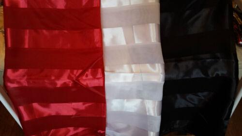 Joblot 24 pcs Faux silk scarf Scarves Red Black White wholesale 100x100 cm Lot L