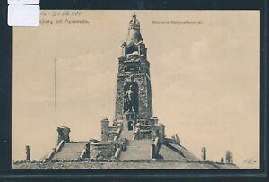 34878) Bahnpost Apenrade-lügumkloster Train 11, Ak A. Bismarck-monument 1913-al 1913fr-fr Afficher Le Titre D'origine