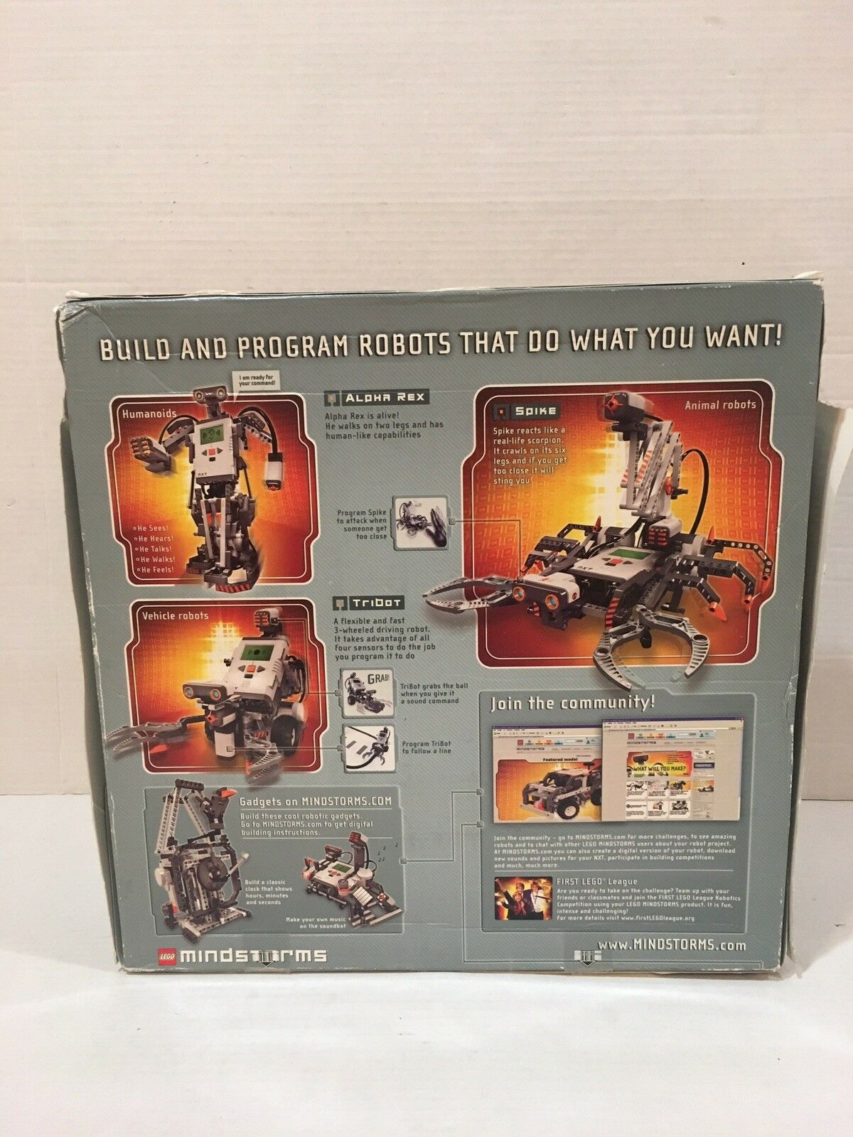 LEGO 8527 Mindstorms NXT With Box NOT Complete Missing