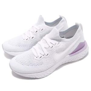 c85eb3826f8 Nike Wmns Epic React Flyknit 2 White Pink Foam Women Running Shoes ...