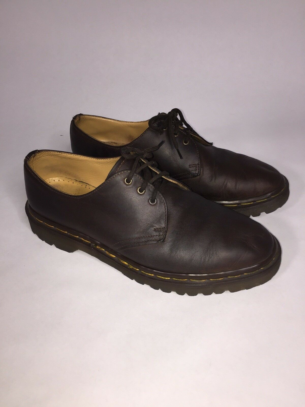 Dr Martin Mens 8 The Original Brown Leather