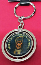 2010 MLB SAN FRANCISCO GIANTS WORLD SERIES CHAMPS SPINNING KEYCHAIN