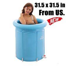 Bathtub Shower Inflatable Bath Tub Portable Kid Adult Spa Bathroom Swimming Pool
