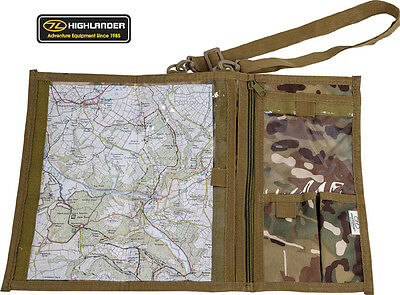 Sighting Orienteering Roamer Scout Military Camo Map case Top Compass Cases