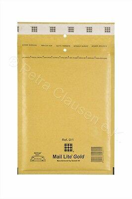 H//8 weiß Luftpolsterumschläge 270 x 360 mm 200 Mail Lite Luftpolstertaschen Gr