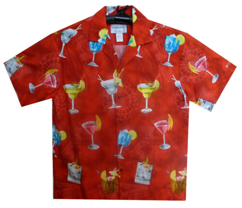 Ky´s Shirt Hawaihemd Original Allover Cocktail Party Hawaiishirt xxOBH1Uq