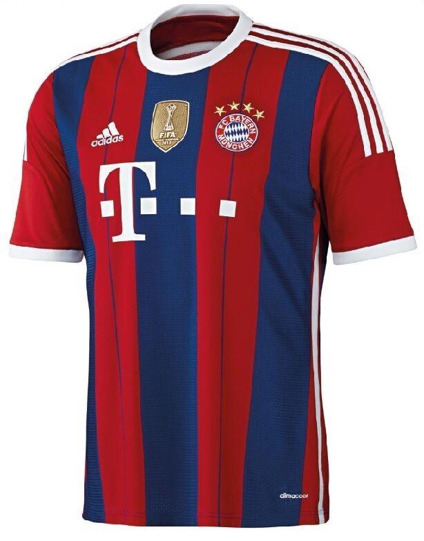 Trikot Adidas FC Bayern 2014-2015 Home WC - Robben Robben Robben  FCB 73392a