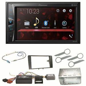 Pioneer-DMH-G220BT-Bluetooth-USB-MP3-Autoradio-Einbauset-fuer-Audi-A3-8P-8PA