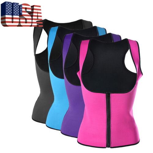 Ladies Women Men Sweat Body Shaper Waist Trainer Cincher Corset Belt Shapewear