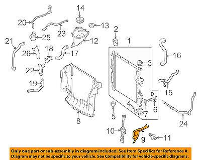 BMW OEM 00-06 X5 Splash Shield-Baffle 51718402420