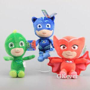PJ-mask-Plush-soft-toys-set-of-3-24cm-tall-Melbourne-stock