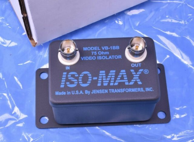 Jensen Boat Composite Video Isolator VB-1RRIso Max Gray