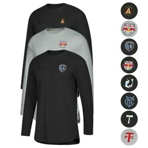 MLS-Adidas-Men-039-s-Authentic-Tango-Sweat-Long-Sleeve-Training-Jersey-Collection