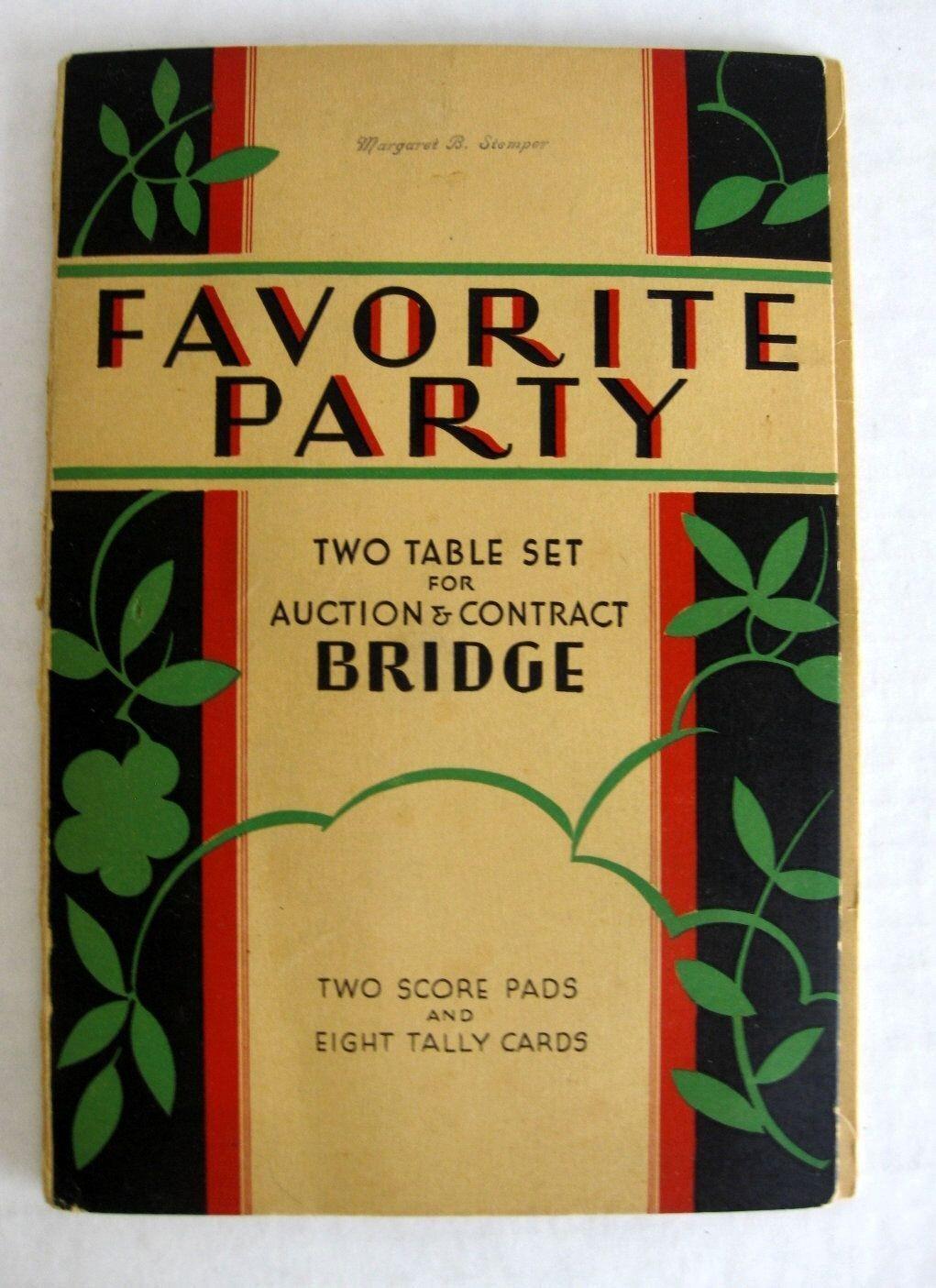 Vintage 1930s Ponte Tally Set di 2 Completo Tavoli in  voituretella Tea Party Set  les promotions