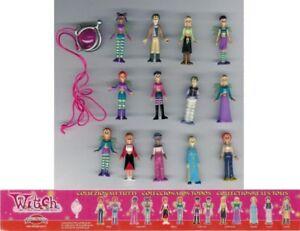 W-I-T-C-H-Disney-Witch-Raro-Set-13-Mini-Figuras-Coleccion-Y-Charm-Original