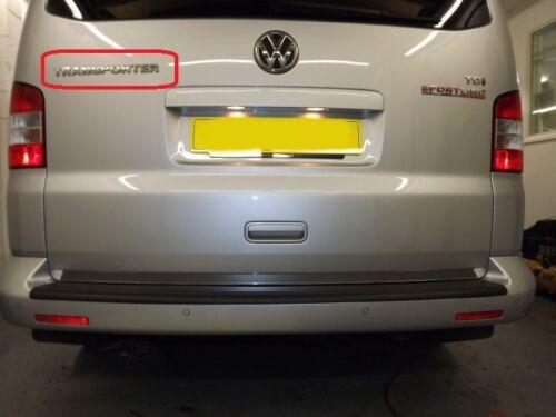 """Neuf D/'Origine VW Transporter 03-11 Coffre Arrière /"""" /"""" Inscription Insigne"""