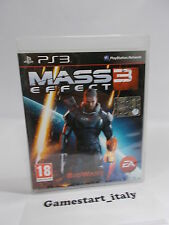 MASS EFFECT 3 (PS3 PLAYSTATION 3) USATO COME DA FOTO