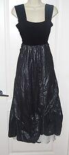 AVIVIT YIZHAR gray black ASYMMETRICAL Hem Sun Dress ISRAEL M 8 NEW $360 ROSE