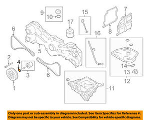 subaru oem 13 16 brz engine inner pulley o ring 806939060 ebay rh ebay com 2006 subaru impreza engine diagram 2009 subaru impreza engine diagram