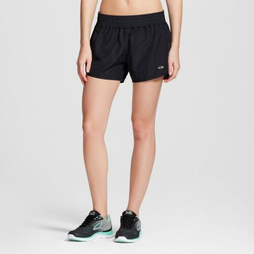 L XL Perforated Black Duo Dry Running Shorts NWT C9 Champion Women/'s Size M