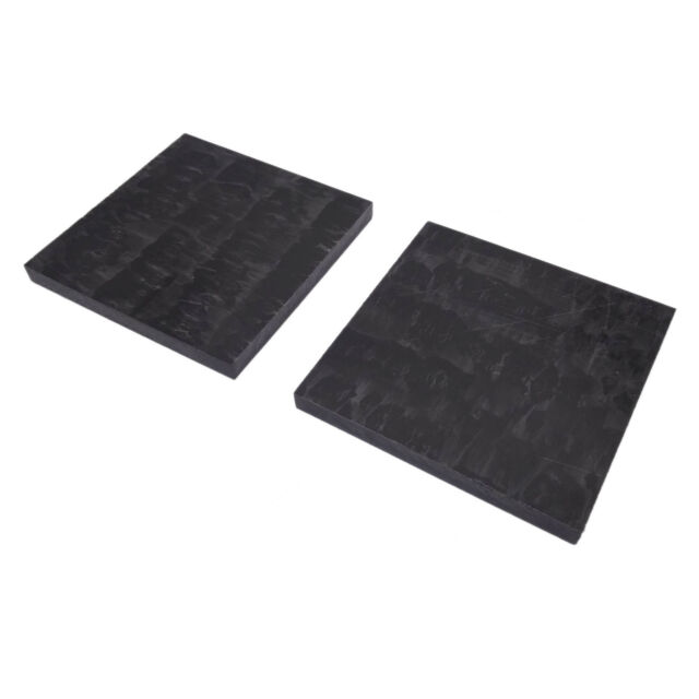 1pcs ACETAL POM Plastic Polyoxymethylene Plate Sheet 6mmx100mmx100mm Black