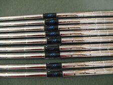 set of PING CUSHIN JZ REGULAR  STEEL SHAFT IRON SET PULL OUTS .34   2 - 9+PW