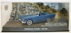 Fabbri-1-43-escala-Diecast-Modelo-Sunbeam-Alpine-Dr-no