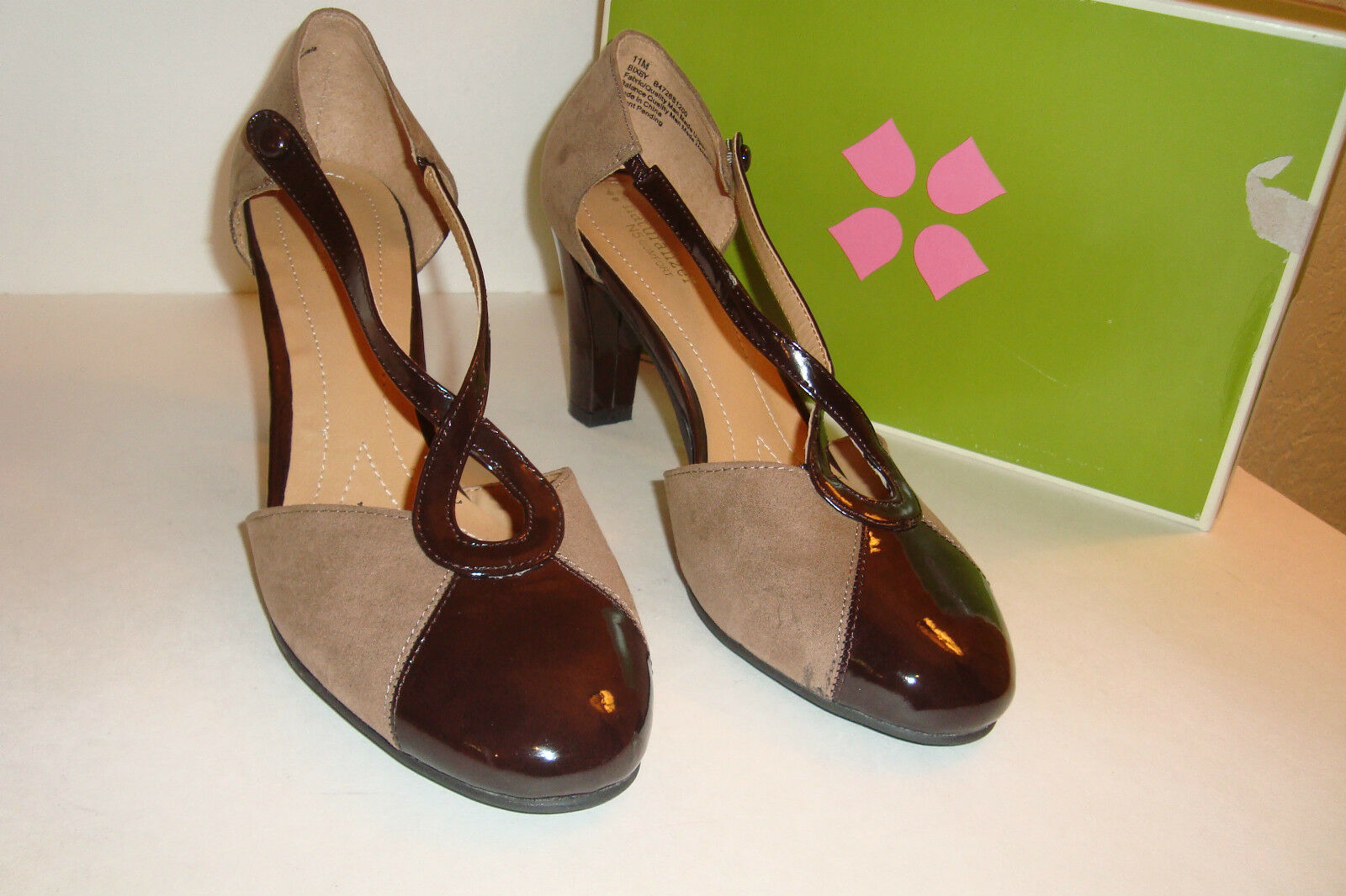 Naturalizer Womens NWB Bixby Brown Taupe Sandals Shoes 11 MED NEW