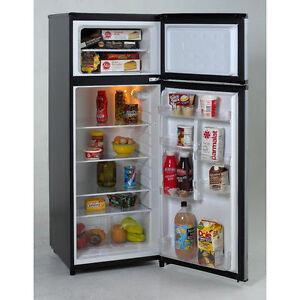 Avanti RA7316PST Door Apartment Size Refrigerator, Black with Platinum  Finish