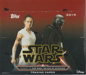 Topps Star Wars Trading Cards The Rise Of SkyWalker