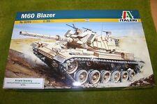 M60 BLAZER Israeli  Battle Tank 1/35 Scale Italeri Kit 6391