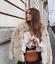 Taille Rare Fausse Fourrure Manteau L Zara 2018 New Beige Veste Court En wB6ARq