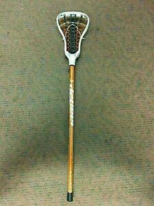K1) University of Virginia UVA Cavaliers Women's Lacrosse Game Used DeBeer Stick