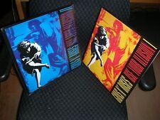 GUNS N' Roses **Use Your Illusion 1 & 2 **Brand New FOUR Record LP Vinyl SET