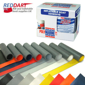 Details about Inflatable Boat Repair Kit, Adhesive Glue, Hypalon Fabric for  RIB, Dinghy