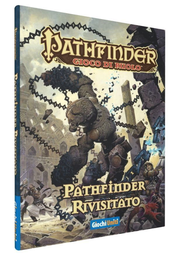 Pathfinder Revisited, Role Play, NEW by United Games, Italian
