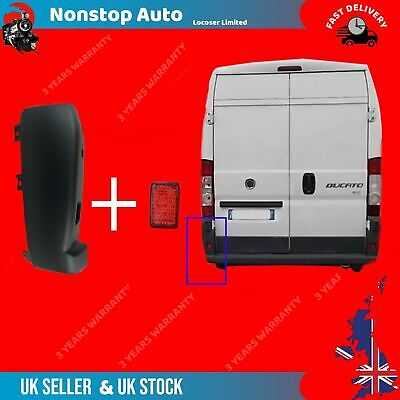 Rear Bumper End Corner For Long Reflector Right O//S Peugeot Boxer 2006-2014 New