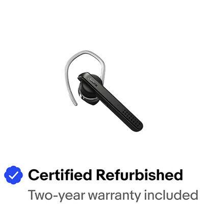Jabra Talk 45 Black Bluetooth Mono Headset (Certified Refurbished)