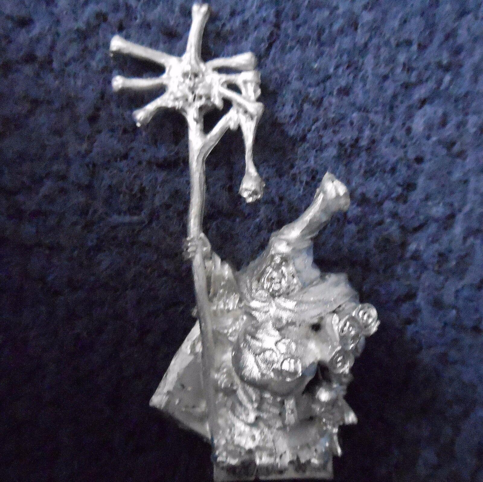 2007 Chaos Sorcerer of Nurgle redbringers Citadel Warhammer Army Mage Wizard D&D