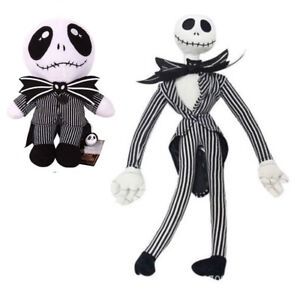 Nightmare Before Christmas Jack Skellington Stuffed Plush Doll Toy Xmas Gift
