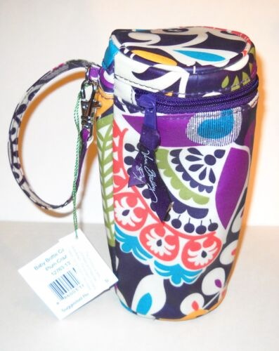 NWT VERA BRADLEY PLUM CRAZY BABY BOTTLE CADDY NEW WITH TAGS